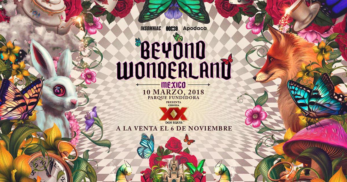Beyond Wonderland anuncia su segunda edición 2018