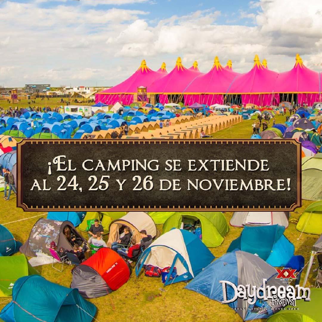 Daydream 2017 Campsite