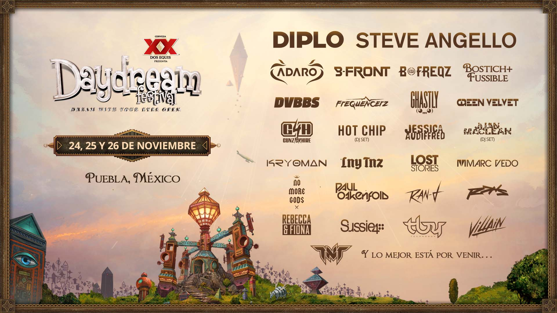 Daydream 2017 Lineup Fase 3