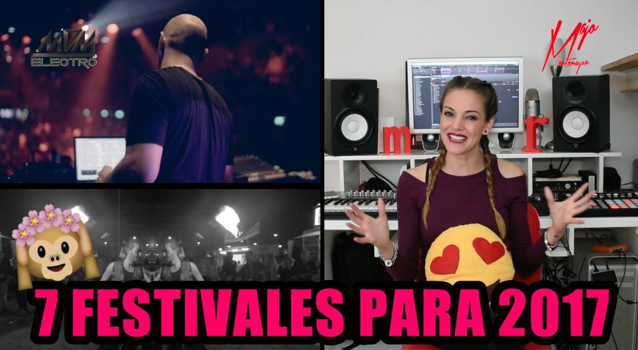 Festivales para el 2017
