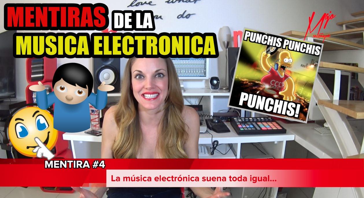 MENTIRAS DE LA MÚSICA ELECTRÓNICA
