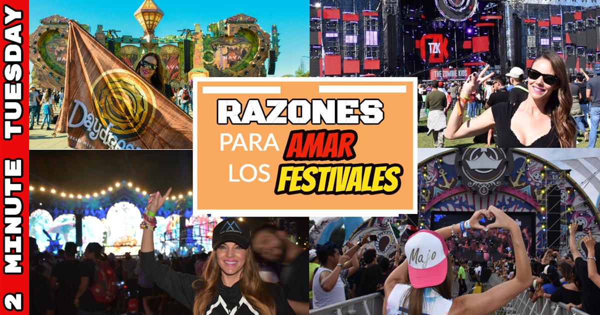 Por qué amamos los festivales