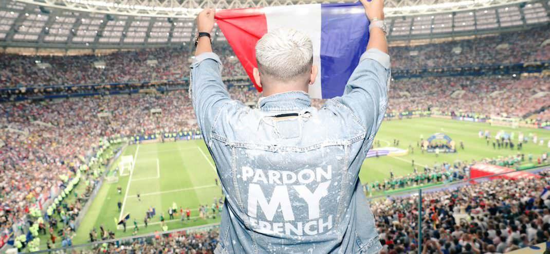 DJ Snake celebra el triunfo de Francia en la copa del mundo