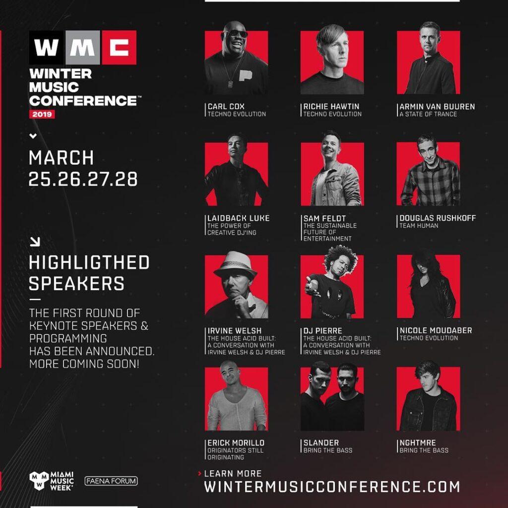 WMC Miami Speakers