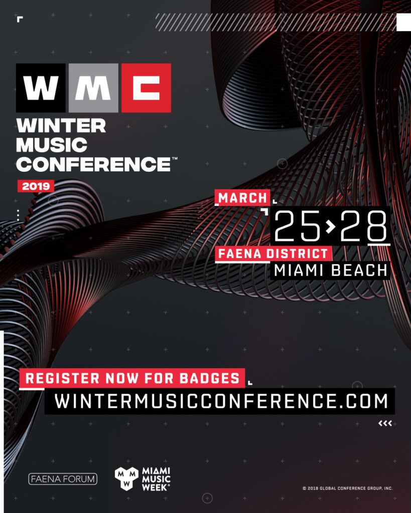 Winter Music Conference 2019 Miami WMC