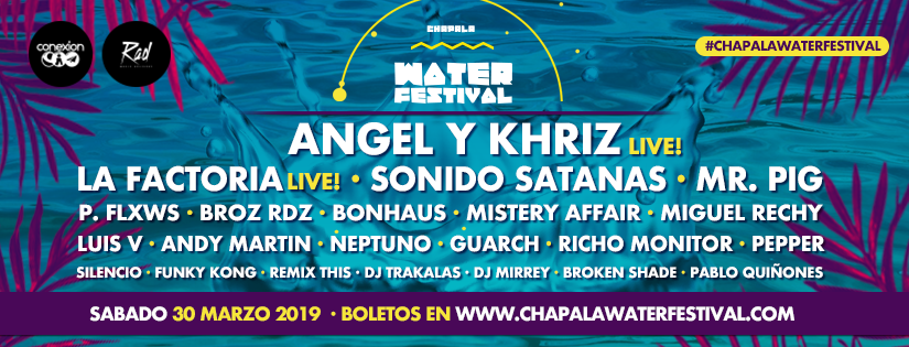 Lineup Chapala Water Festival