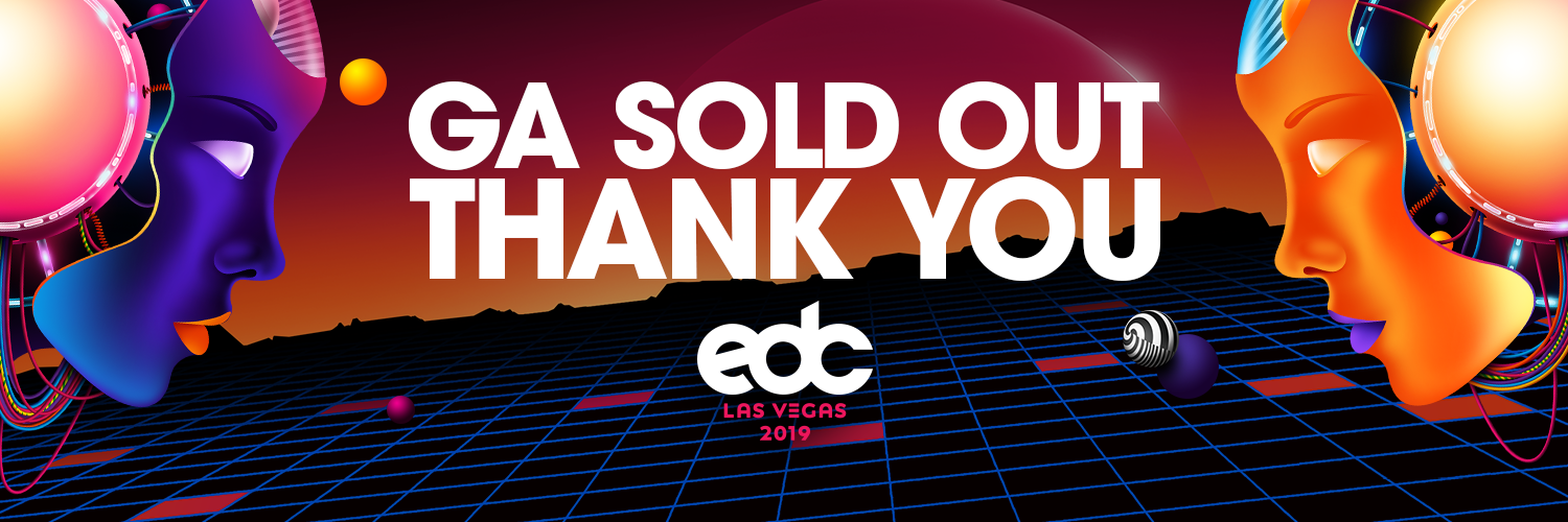 EDC Las Vegas Sold Out
