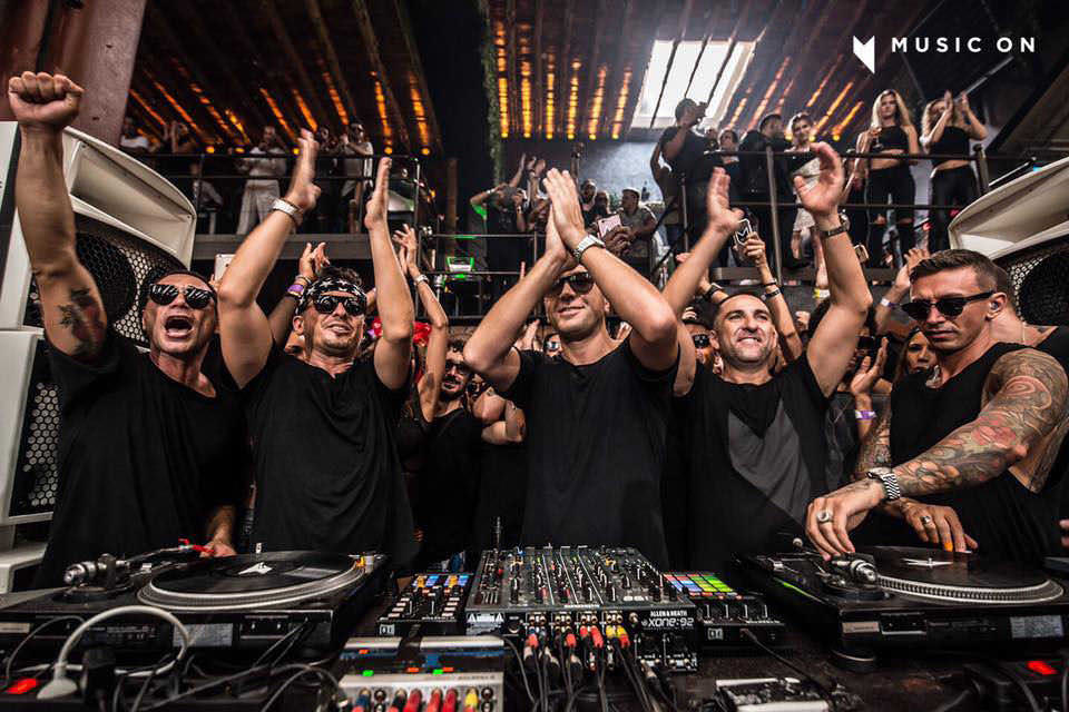 Music On Marco Carola at Amnesia