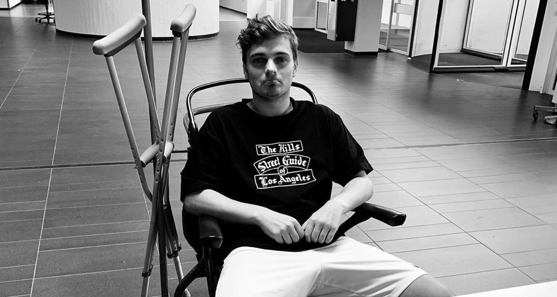 Martin Garrix lesión