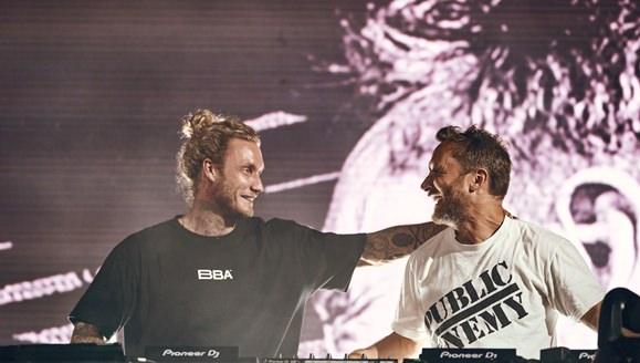 David Guetta y Morten