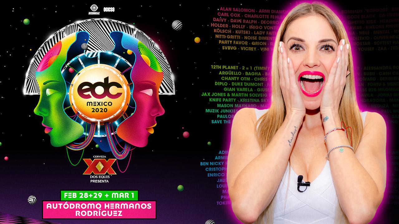 LINEUP EDC MÉXICO 2020