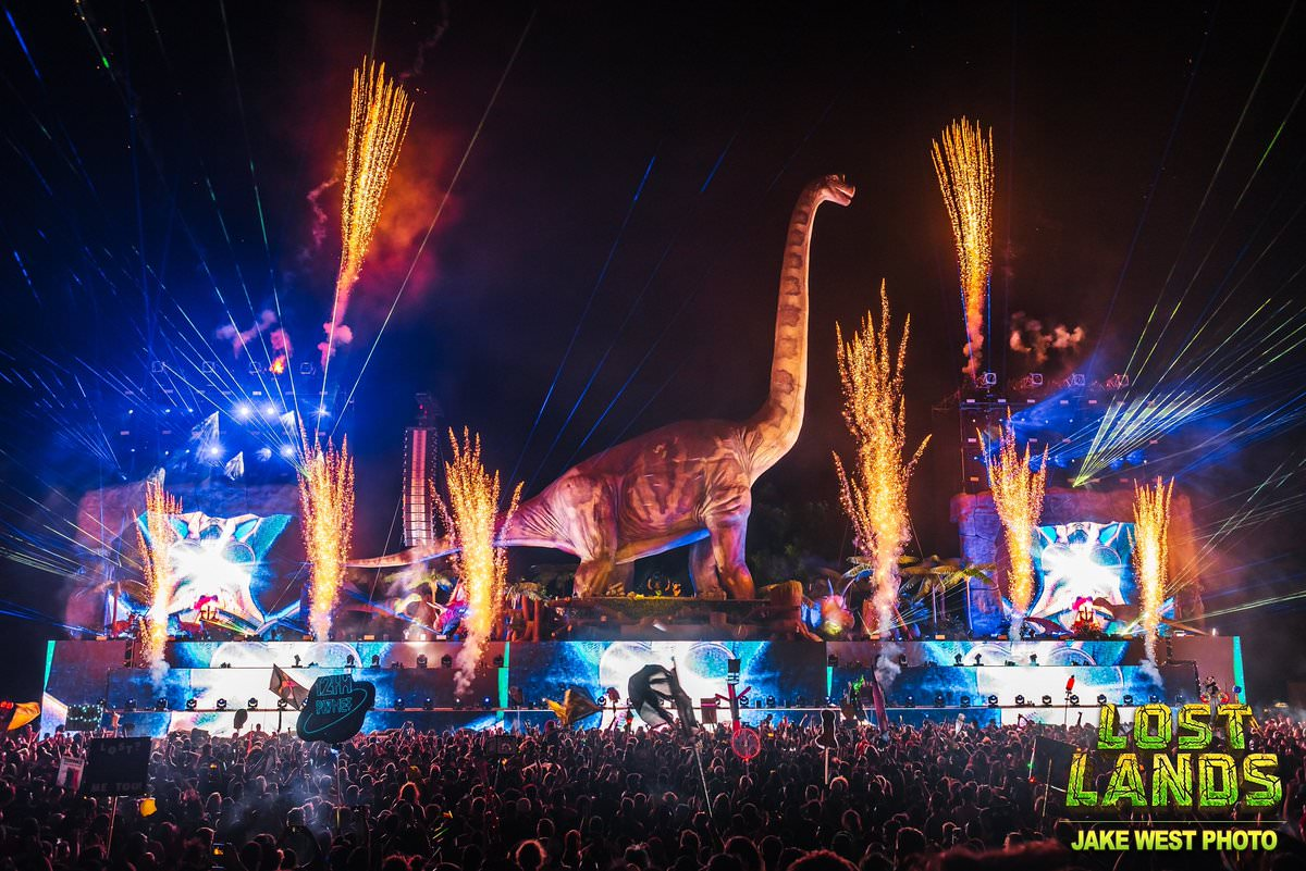 Excision Lost Lands y Bass Canyon