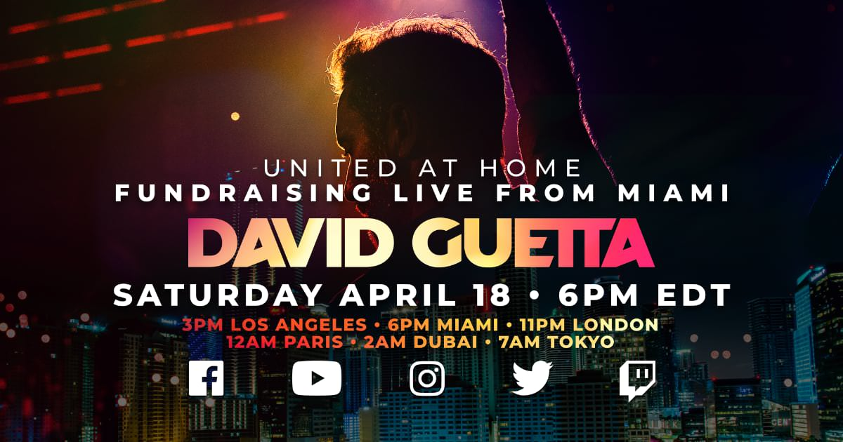 David Guetta United At Home