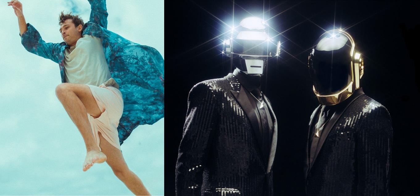 Flume y Daft Punk en el top 100 álbumes