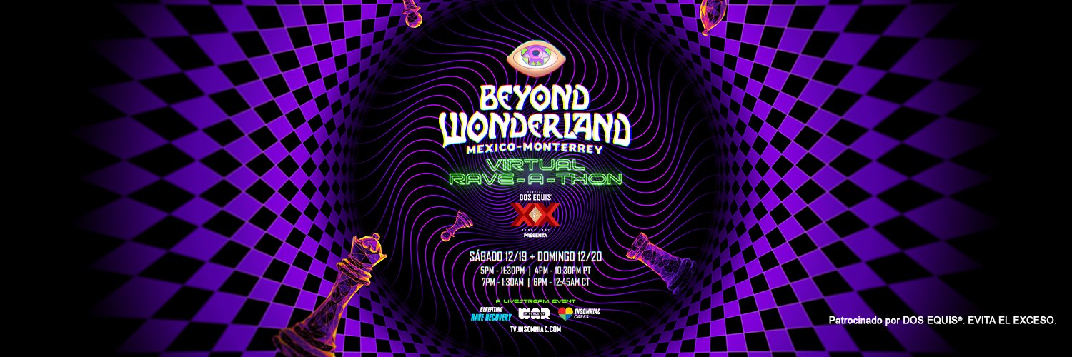 Beyond Wonderland Monterrey virtual 2020